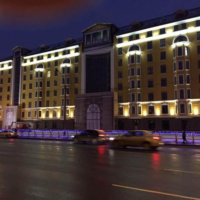 ход строительства жилого комплекса Тапиола